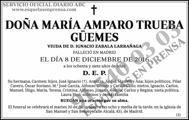 María Amparo Trueba Güemes